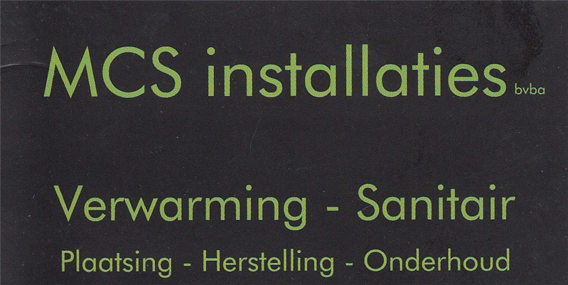 Mcs Installaties